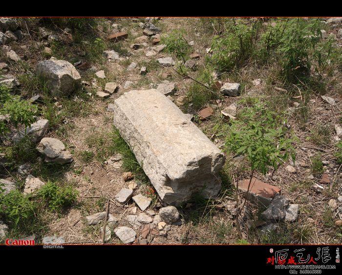清泉寺残存的石构建