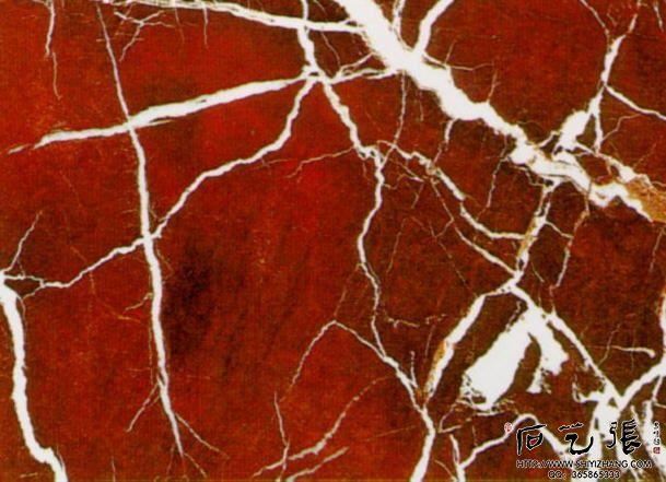 红色大理石