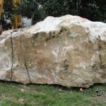 米黄玉原矿石