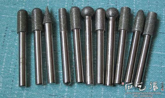 石头刻字工具:金刚石磨头