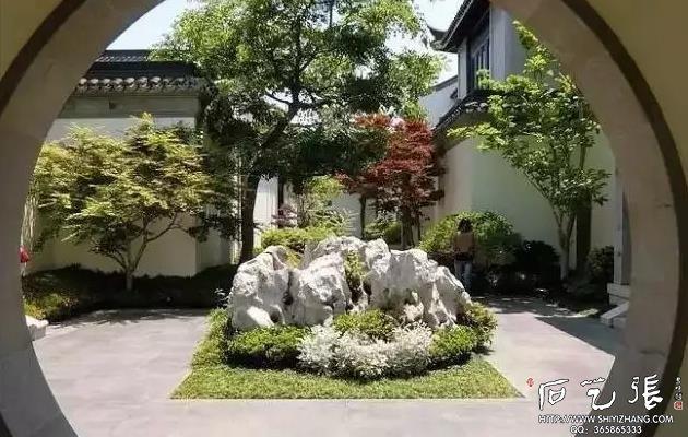 太湖石景观