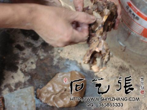 石头底座根雕底座制作方法步骤