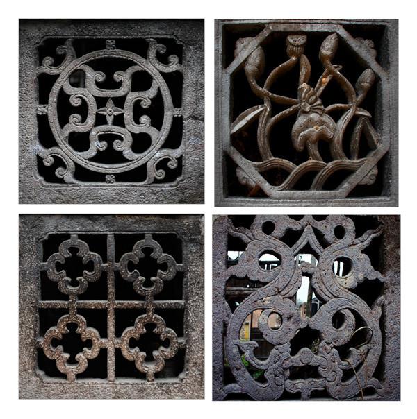 各种样式的石花窗