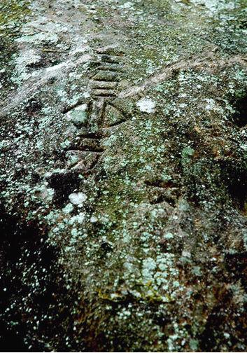 位于贵州省三都水族自治县都江镇大坝村三都水书摩崖石刻