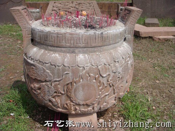 石刻石雕香炉