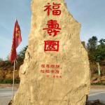 石头刻字《福寿园》