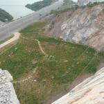 摩崖石刻施工现场
