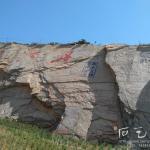 摩崖石刻施工照片