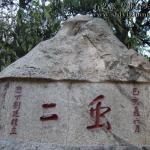 泰山摩崖刻石《虫二》